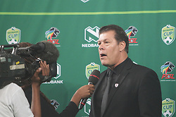 21042018 (Durban) Kaizer Chiefs take on Free State Stars in the first Semi-Final at the Moses Mabhida Stadium On Saturday evening. Headcoach of Free State stars Luc Eymael at the stadium<br /> Picture: Motshwari Mofokeng/ANA