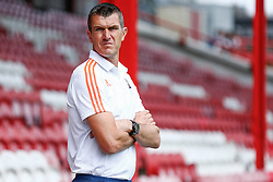 Brentford Head Coach, Marinus Dijkhuizen - Mandatory by-line: Jason Brown/JMP - Mobile 07966 386802 25/07/2015 - SPORT - FOOTBALL - Brentford, Griffin Park - Brentford v Stoke City - Pre-Season Friendly