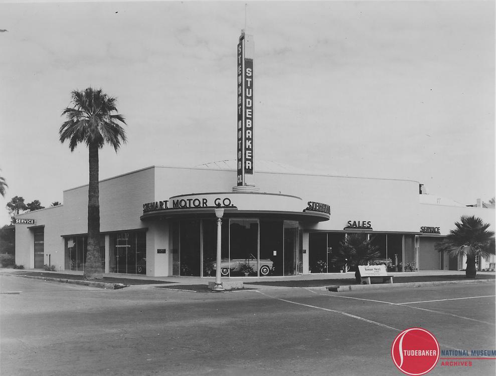 Stewart Motor Company, 800 N.Central Ave., Phoenix, Arizona.