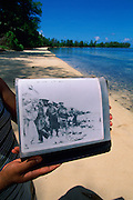Orange Beach, Peleliu, Palau, Micronesia<br />
