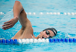 Martin Bau during practice session of Slovenian Swimming National Team, on June 7, 2017 in Zusterna, Koper / Capodistria, Slovenia. Photo by Vid Ponikvar / Sportida