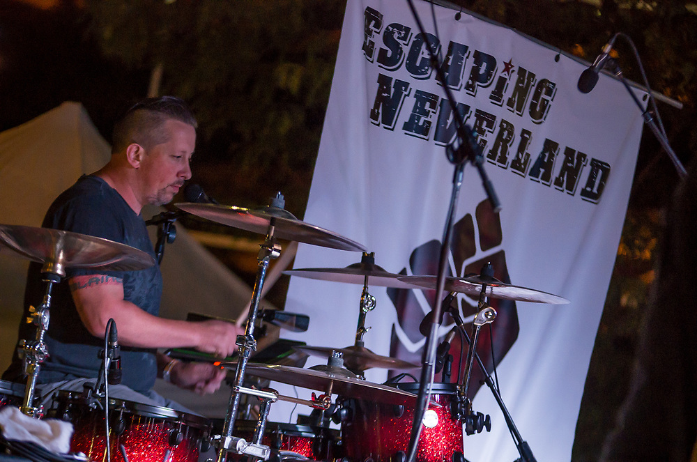 Escaping Neverland performing at the Decatur Celebration Friday August 4, 2017