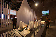 "Venice, Italy. 14th Architecture Biennale 2014, ""fundamentals"".<br /> Arsenale Nord.<br /> ""Across Chinese Cities - Beijing"""