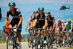 Cote de Puget, France - Tour de France :: Stage 20 - 20th July 2013 - Sky Pro Cycling in the peloton