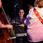 The Juanito Pascual New Flamenco Trio performs at The Loft in Portsmouth, NH. Nov. 2012. Juanito Pascual - Guitar. Tupac Mantilla - Percussion. Brad Barrett - Bass.