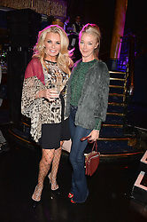 Left to right, Claire Caudwell and Tamara Beckwith at the SheInspiresMe Dance in aid of Women for Women International held at the Café de Paris, 3 Coventry Street, London England. 25 January 2017.