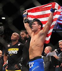 July 6, 2013: UFC 162 Weidman vs Silva