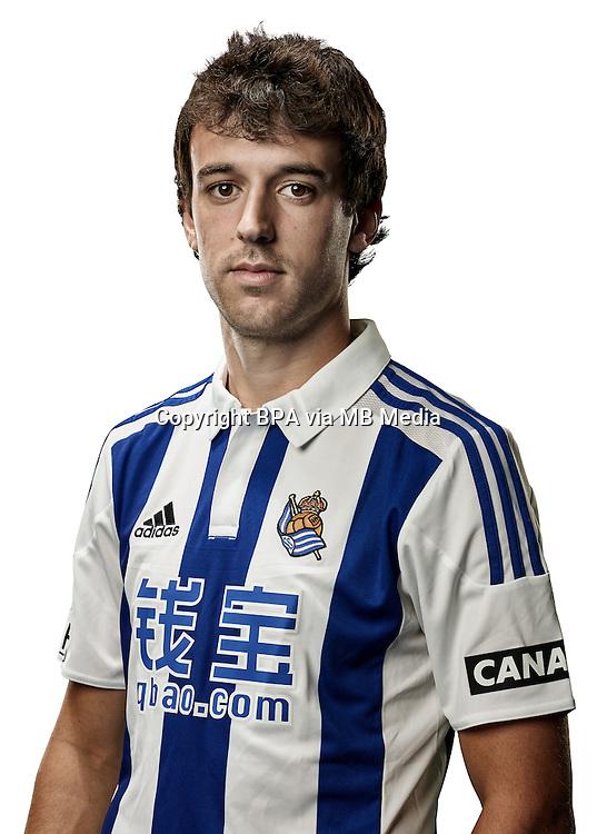 Spain - Liga BBVA 2015-2016 / <br /> ( Real Sociedad de Futbol ) - <br /> Ruben Pardo Gutierrez