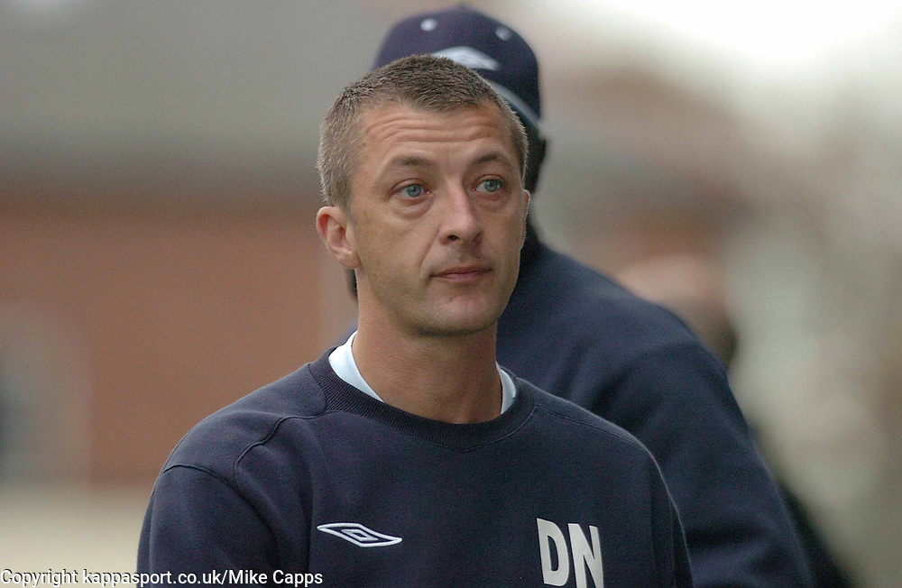 DANNY NICHOLLS ASSISTANT MANAGER  KETTERING TOWN  Southport v Kettering Town Conference Saturday 28th October 2006