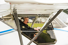 Willie Rennie joins UK Civil Air Patrol for training flight | Perth | 12 April 2016