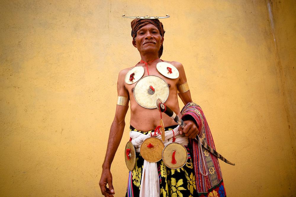 Elder from Ainaro District. .@ Martine Perret. 12 February 2009