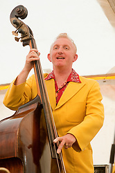 Double Bass Ken Smith..9 September 2012.Image © Paul David Drabble