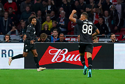 13-08-2019 NED: UEFA Champions League AFC Ajax - Paok Saloniki, Amsterdam<br />  Ajax won 3-2 and they will meet APOEL in the battle for a group stage spot / Diego Biseswar #21 of PAOK scores 0-1