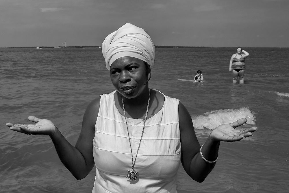 Every year a ceremony is held in several places along the eastern coast of the U.S. like Sullivan's Island near Charleston, S.C., commemorating the nearly 2 million Africans who perished in the Middle Passage of the transatlantic human trade.