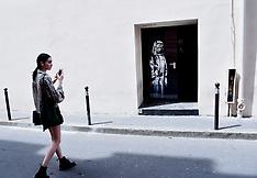 Banksy Mural Is Stolen From Bataclan - 27 Jan 2019
