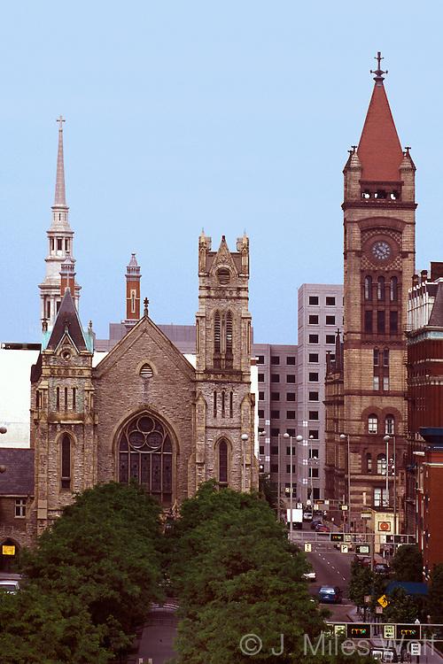 Garfield Park Steeples Cincinnati Ohio