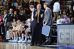 8 March 2015: The Southern Conference hosted their 2015 basketball championship, Sunday in Asheville, North Carolina.  Wofford 73, WCU 61. Credit: Todd Drexler/SoConPhotos.com