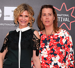 Edinburgh International Film Festival, Thursday 22nd June 2017<br /> <br /> STORY OF A GIRL (WORLD PREMIERE)<br /> <br /> Kyra Sedgwick and writer Emily Bickford Lansbury<br /> <br /> (c) Alex Todd | Edinburgh Elite media