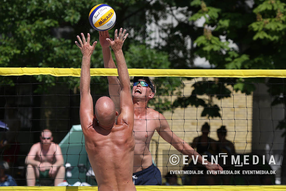 Beachvolley: Odense Grand Slam on the Danish Beachvolley Tour 2015, 5.6.2016 in Odense, Denmark. (EVENTMEDIA).