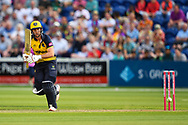 Chris Cooke in action<br /> <br /> Photographer Craig Thomas/Replay Images<br /> <br /> Vitality Blast T20 - Round 4 - Glamorgan v Middlesex - Friday 26th July 2019 - Sophia Gardens - Cardiff<br /> <br /> World Copyright © Replay Images . All rights reserved. info@replayimages.co.uk - http://replayimages.co.uk