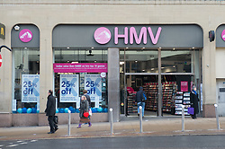 HMV store. the Fargate, Sheffield