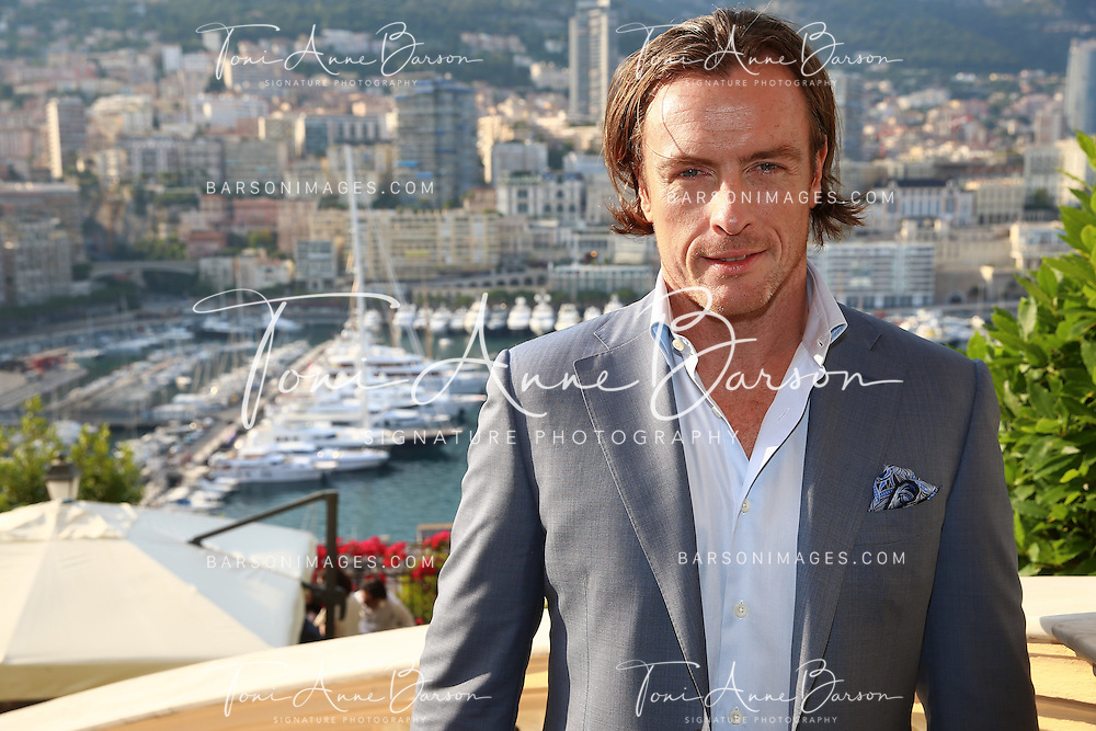 MONTE-CARLO, MONACO - JUNE 09:  Toby Stephens attends a Cocktail Reception at the Ministere d'etat on June 9, 2014 in Monte-Carlo, Monaco.  (Photo by Pool Barson/FilmMagic)