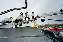 Audi Medcup  May 2009 Spain Alicante, TP52, onboard on Mrazzi Sailing SUI 52, Chartered Artemis