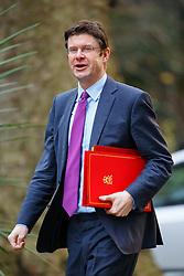 © Licensed to London News Pictures. 26/01/2016. London, UK. Communities and Local Government Secretary, GREG CLARK attending a cabinet meeting in Downing Street on Tuesday, 26 January 2016. Photo credit: Tolga Akmen/LNP