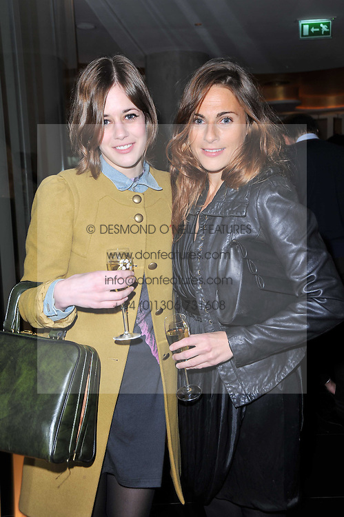 Left to right, sisters SHONA and MOIRA at a party to celebrate the 15th birthday of Vogue.com held at W Hotel, Leicester Square, London W1 on 17th February 2011.