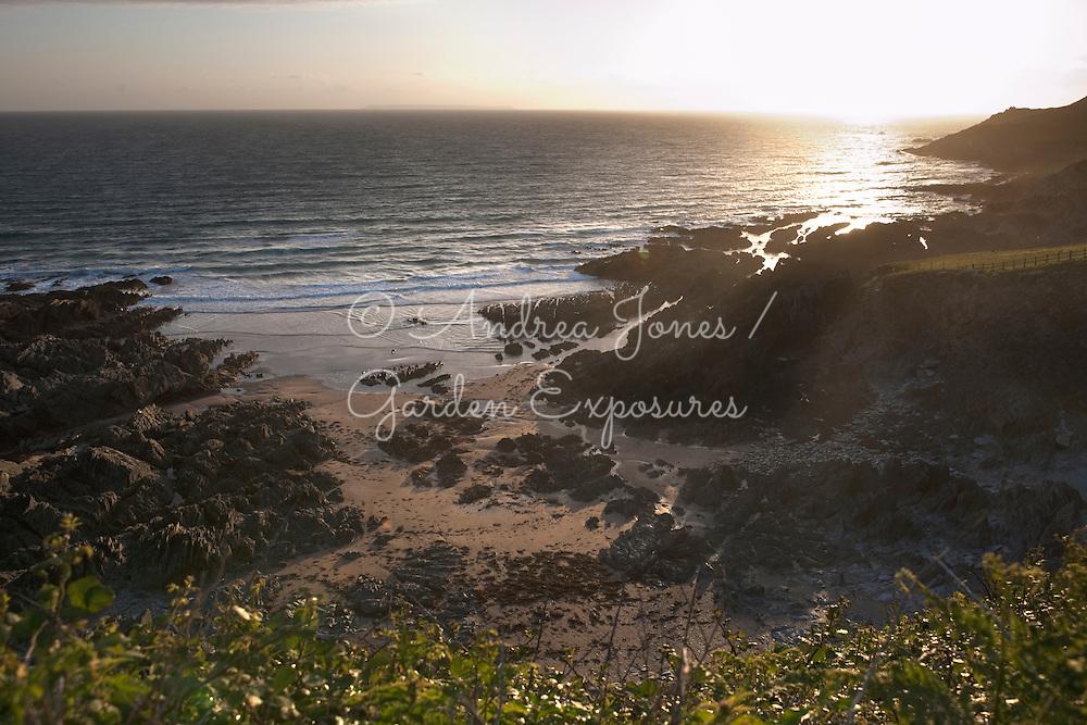View of Grunta Beach and Morte Point, Devon