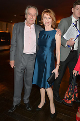 GERALD SCARFE and JANE ASHER at the 2014 Costa Book of The Year Awards held at Quaglino's, Bury Street, London on 27th January 2015.  The winner of the Book of The Year was Helen Macdonald for her book H is for Hawk.