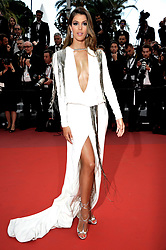 "71st Cannes Film Festival 2018, Red carpet film film ""Sorry Angel"". 10 May 2018 Pictured: 71st Cannes Film Festival 2018, Red carpet film ""Sorru Angel"" Iris Mittenaere. Photo credit: Pongo / MEGA TheMegaAgency.com +1 888 505 6342"