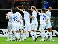 05-04-11 INTER-SCHALKE 04 CHAMPIONS LEAGUE 10-11<br /> ESULTANZA SCHALKE 04 PER IL 2-2