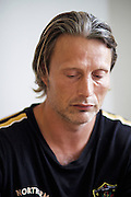 Mads Mikkelsen, actor - plays the villain Rochefort in the movie The Three Musketeers (2011).