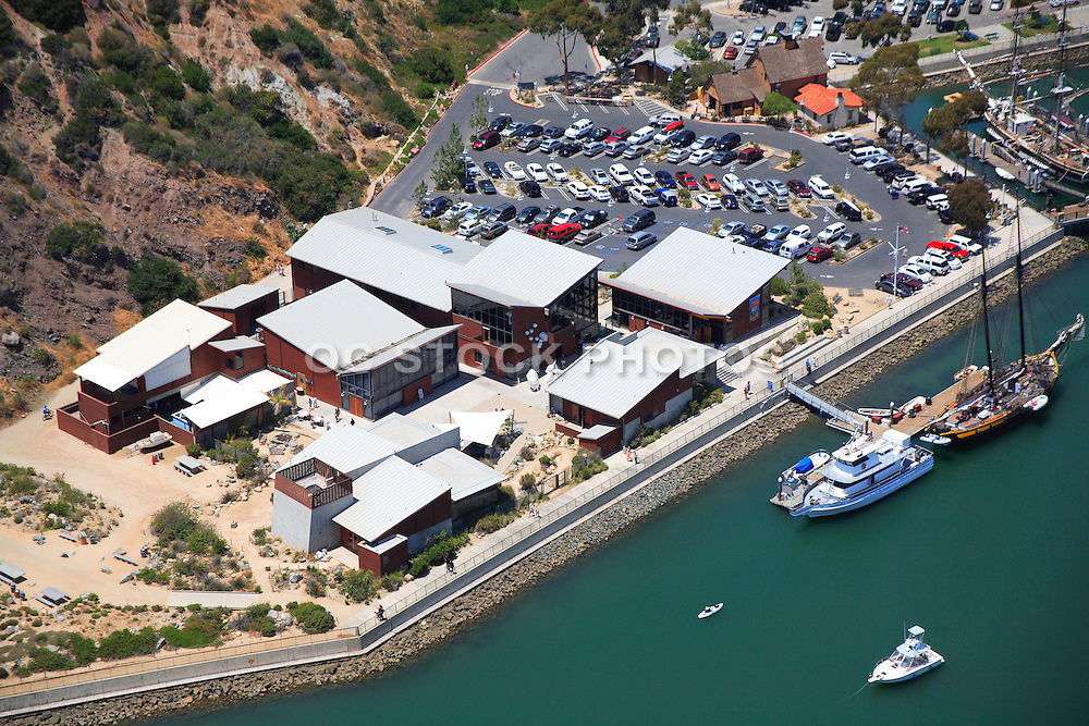 Aerial Photo of the Dana Point Marine Ocean Institute