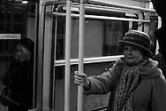 Metro woman, Budapest