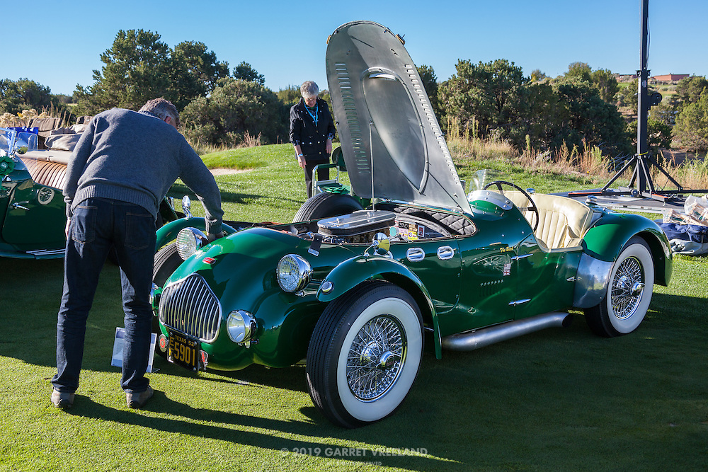 Frost delayed owners (and myself) from getting out on the course at daybreak. Once the groundskeepers gave us the AOK, it was a rush to prepare the cars - and to get great photos!