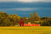 Red barn<br />Matlock<br />Manitoba<br />Canada