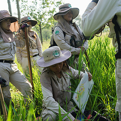 UXO Female Deminers Team