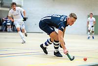 DELFT - Gijs van der Wallen (hdm) tijdens de zaalhockey hoofdklasse competitiewedstrijd HDM-KAMPONG (7-8). COPYRIGHT KOEN SUYK