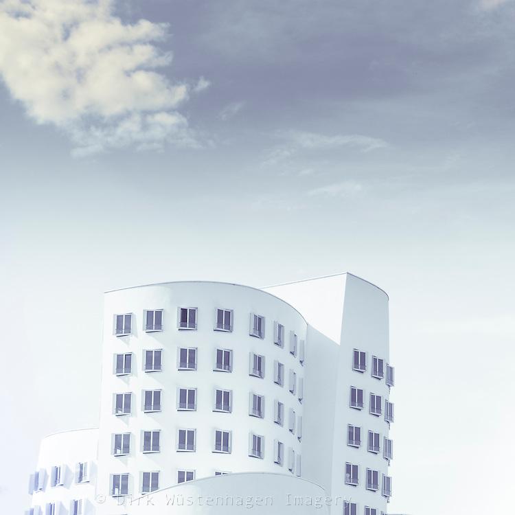 Moderne Architektur Gehry, Düsseldorf, Deutschland