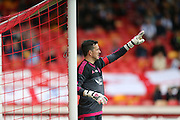 Jamie Langfield during the Pre-Season Friendly match between Aberdeen and Brighton and Hove Albion at Pittodrie Stadium, Aberdeen, Scotland on 26 July 2015.