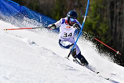 BOURDENX Manoel, LW4, FRA, Slalom at the WPAS_2019 Alpine Skiing World Cup Finals, Morzine, France