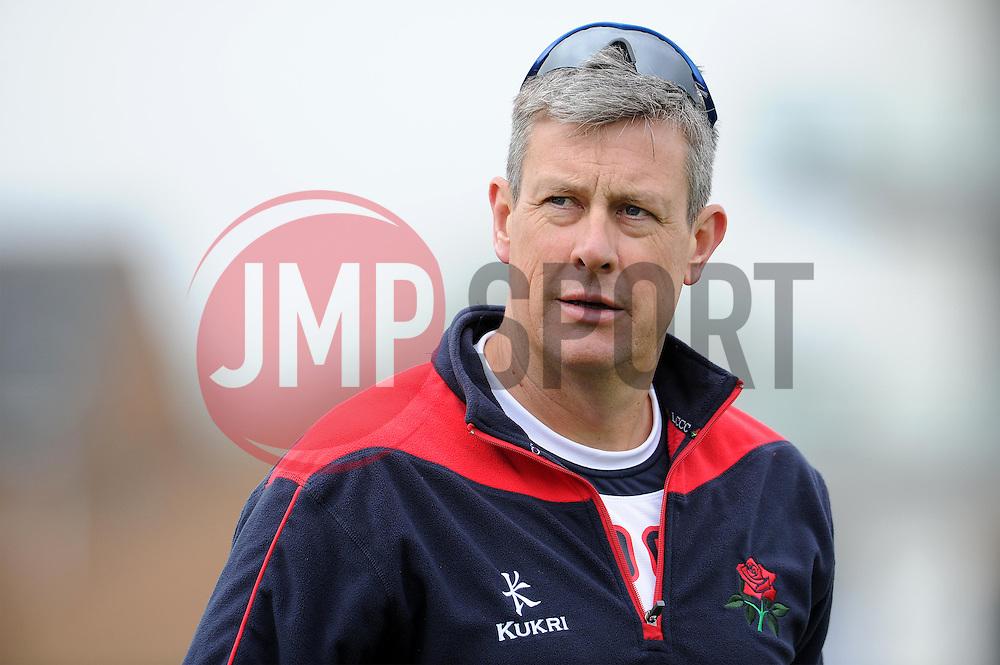 Lancashire's Head Coach Ashley Giles - Photo mandatory by-line: Harry Trump/JMP - Mobile: 07966 386802 - 07/04/15 - SPORT - CRICKET - Pre Season - Somerset v Lancashire - Day 1 - The County Ground, Taunton, England.