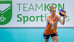 26-05-2017 NED: Nederland - Italie, Apeldoorn<br /> Kick off voor het Nederlands vrouwenteam begon met een oefenwedstrijd in Apeldoorn. Italië werd met 3-1 verslagen / Maret Balkestein-Grothues #6