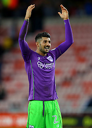 Eros Pisano of Bristol City celebrates the win over Sunderland - Mandatory by-line: Robbie Stephenson/JMP - 28/10/2017 - FOOTBALL - Stadium of Light - Sunderland, England - Sunderland v Bristol City - Sky Bet Championship