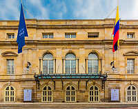 Opera in La Candelaria aera Bogota capital city of Colombia South America
