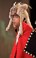 AFN Conference, Eagan Convention Center, Anchorage, Alaska, 2006, Tlingit Dance Group