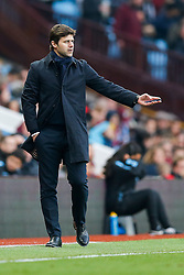 Tottenham Hotspur Manager Mauricio Pochettino - Mandatory byline: Rogan Thomson/JMP - 13/03/2016 - FOOTBALL - Villa Park Stadium - Birmingham, England - Aston Villa v Tottenham Hotspur - Barclays Premier League.