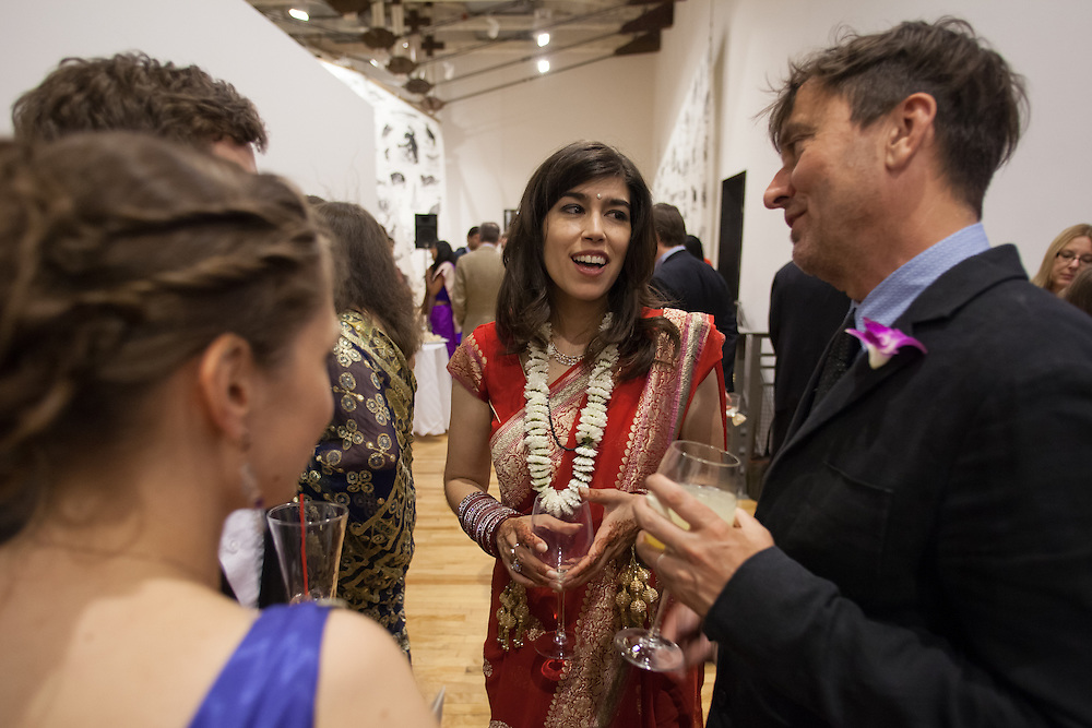 Wedding at MASS MoCA in North Adams, MA - For  The New York Times 'Vows' column